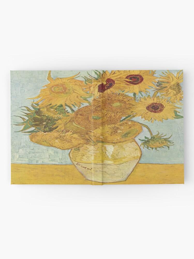 Alternate view of Vincent van Gogh's Sunflowers Hardcover Journal