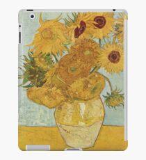 Vincent van Goghs Sonnenblumen iPad-Hülle & Klebefolie
