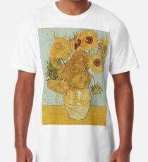 Vincent van Gogh's Sunflowers Long T-Shirt