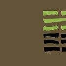 08 Unity I Ching Hexagram by SpiritStudio