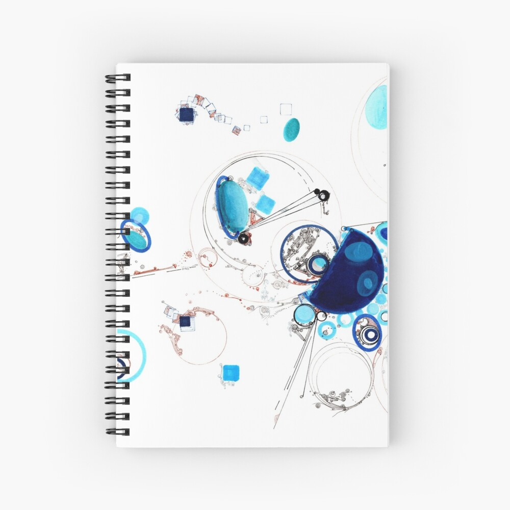Occasional Ellipses Spiral Notebook