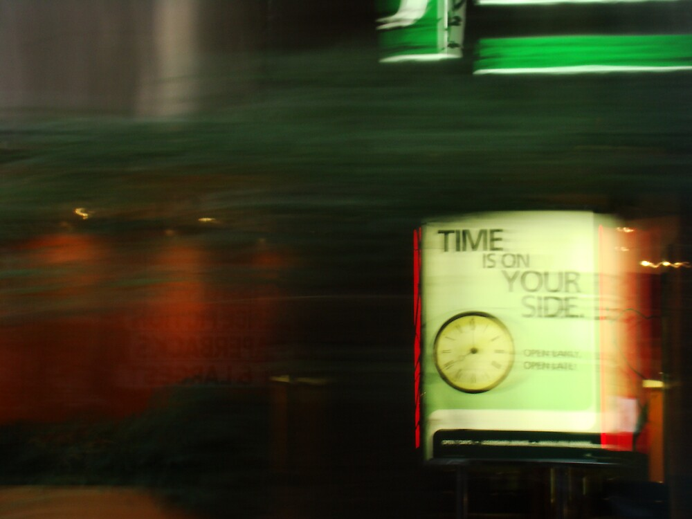 Time is on your side by Elizabeth Rodriguez