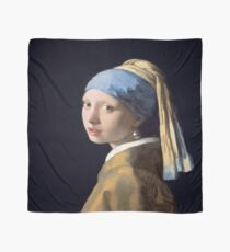 Johannes Vermeer - Girl with a Pearl Earring Scarf