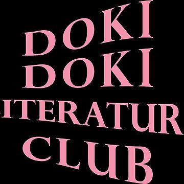 Doki Doki Literature Club Anti Social Logo Parody by SteinsFate