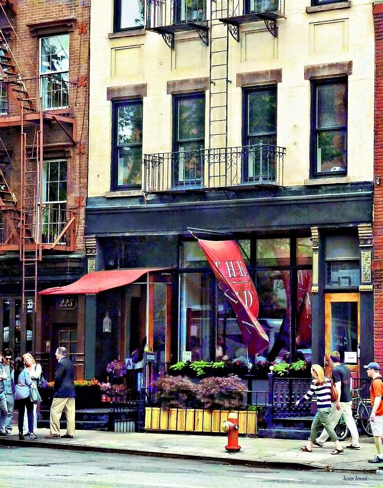 Restaurant in Chelsea by Susan Savad