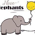I love elephants by Andreea Butiu