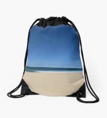 Summertime Blues Drawstring Bag