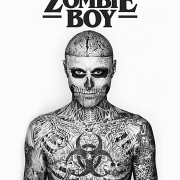 Zombie Boy R.I.P. by hypetype