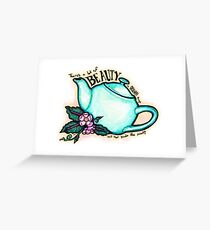 The Office Teapot Greeting Card