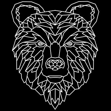 Bear Geometric as Geometric by FrediWicht