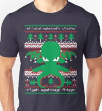 Cthulhu Cultist Christmas - Cthulhu Ugly Christmas Sweater Unisex T-Shirt