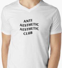 ANTI SOCIAL CLUB AESTHETIC Men's V-Neck T-Shirt