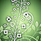 Flower Tree by Amanda-Jane Snelling