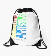 """Vertical"" Drawstring Bag"