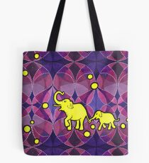 Yellow Elephants Tasche