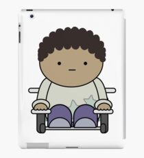 Kid in Wheelchair iPad Case/Skin