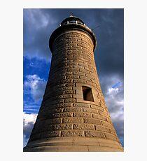 Tynemouth Lighthouse Photographic Print