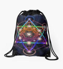 Sacred Geometry 5 Drawstring Bag