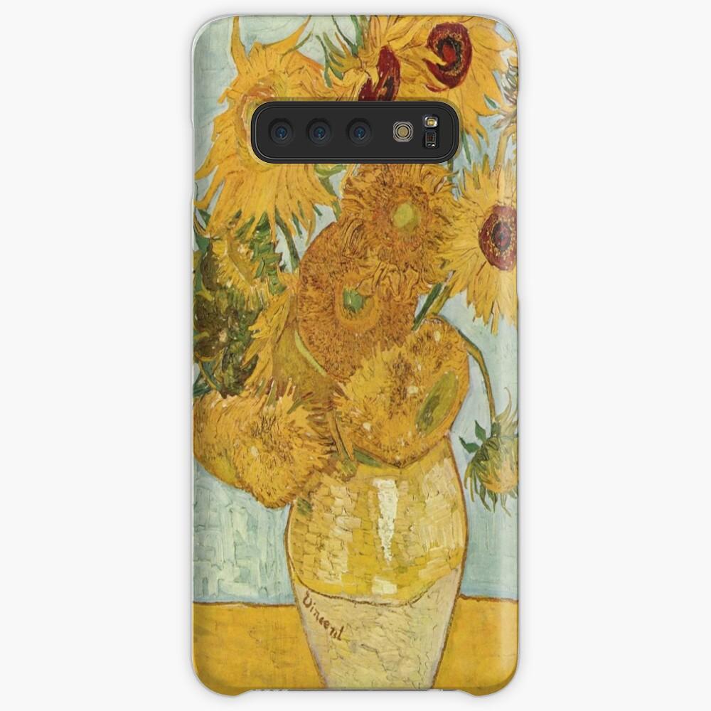 Vincent van Goghs Sonnenblumen Hülle & Klebefolie für Samsung Galaxy