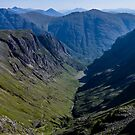 Lost Valley, Glencoe Scotland by Stravaigin