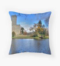 Chateau de Montbrun, Haute Vienne, France Throw Pillow