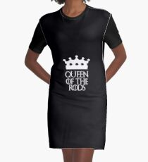 Queen of the Rods, #Rods  Graphic T-Shirt Dress