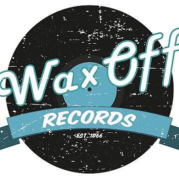 Wax Off Records-Retro by Grafixfreak