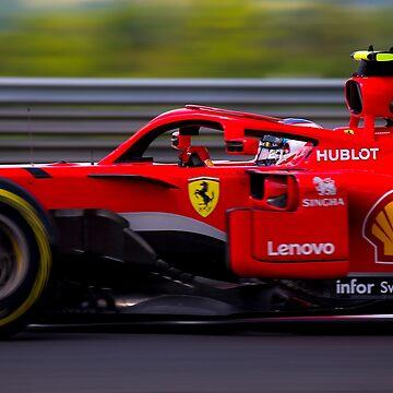 Ferrari Formula 1 2018 by SpeedKing