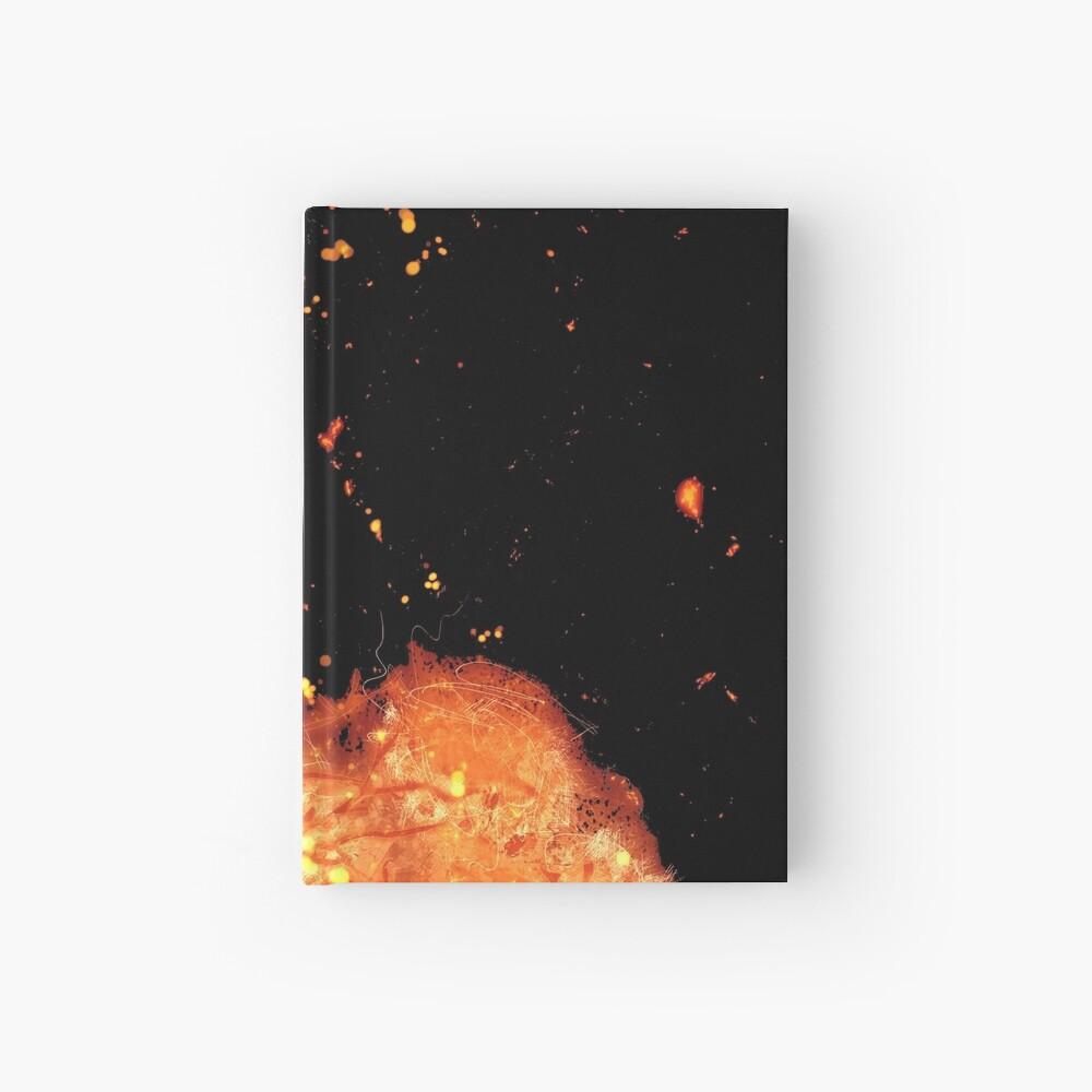 Crow branches burning Cuaderno de tapa dura