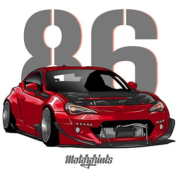 GT86 (red) by MotorPrints