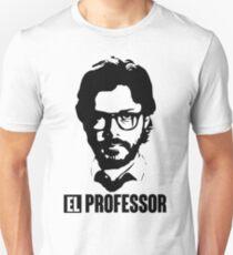 La casa de papel - El Professor Unisex T-Shirt