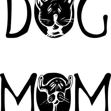 DOG Black Design Women's T Shirt by jonres
