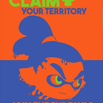 Claim your territory: Join the Turf War. by moeyumi