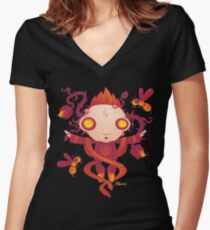 HIVES Women's Fitted V-Neck T-Shirt