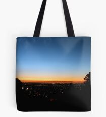 Sunset From Perth Hills Tote Bag