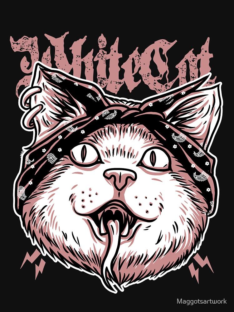 Hiphop Cat T Shirt By Maggotsartwork Redbubble