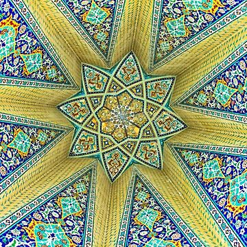 Inside the Tomb of Baba Taher - Hamadan - Iran by BryanFreeman
