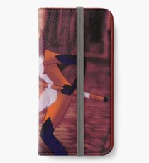 Rena Rouge in the cobbled ally iPhone Wallet/Case/Skin