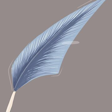 Blue Feather  by Jamtastic