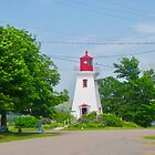 Lighthouse in Victoria by the Sea, PEI, Canada - Please view large by Shulie1