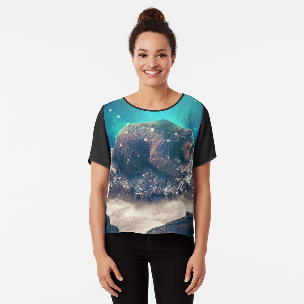 Under the Stars | Ursa Major Chiffon Top