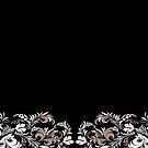 Black floral  by Philipe3d