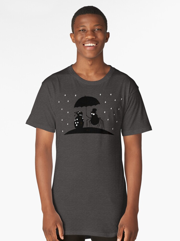 Bugs in the Rain Long T-Shirt Front
