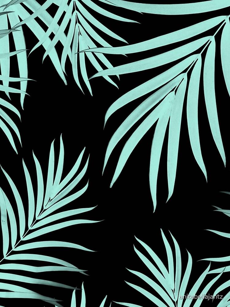 Palm Leaves Pattern Summer Vibes #6 #tropical #decor #art  by anitabellajantz