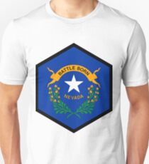 NEVADA HEXAGONAL SEAL Unisex T-Shirt