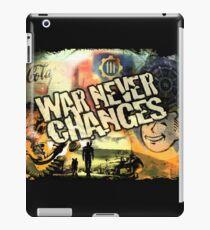 Krieg ändert sich nie iPad-Hülle & Klebefolie