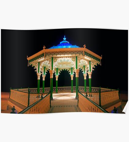 The Bandstand - Brighton - England Poster
