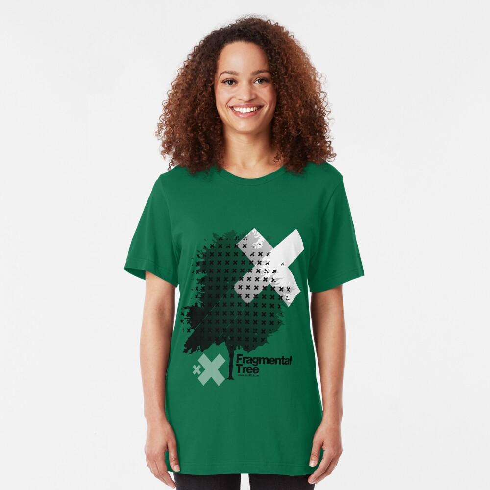 Fragmental Tree /// Slim Fit T-Shirt