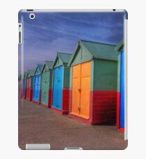 The Painted Beach Huts - Brighton - England iPad Case/Skin