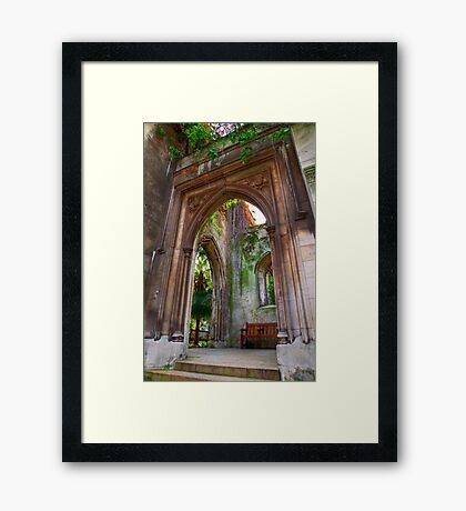 St Dunstan in the East - London Framed Print